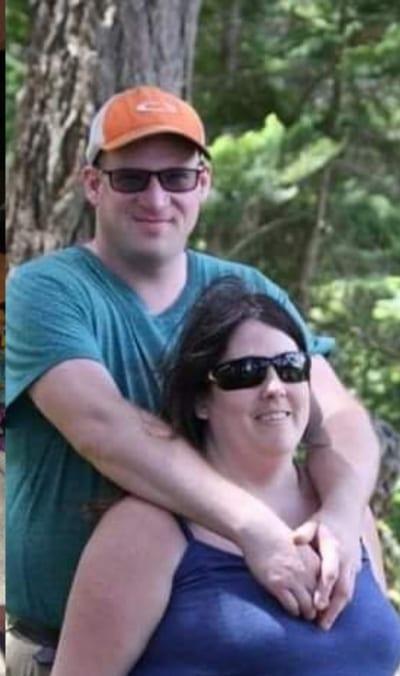 Aron capon 48 xxxy with his wife